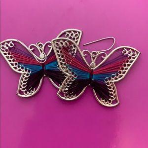 Jewelry - Butterfly Earrings